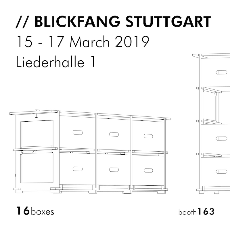 16 boxes 16-boxes 16boxes Blickfang Messe