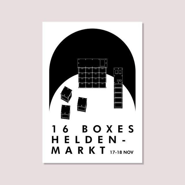 16boxes auf dem Heldenmarkt am 17-18. November 2018